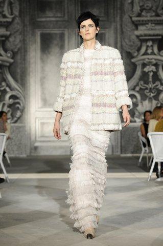 Stella Tennant CHANEL Haute Couture automne-hiver 2012-13 Esprit de Gabrielle espritdegabrielle.com