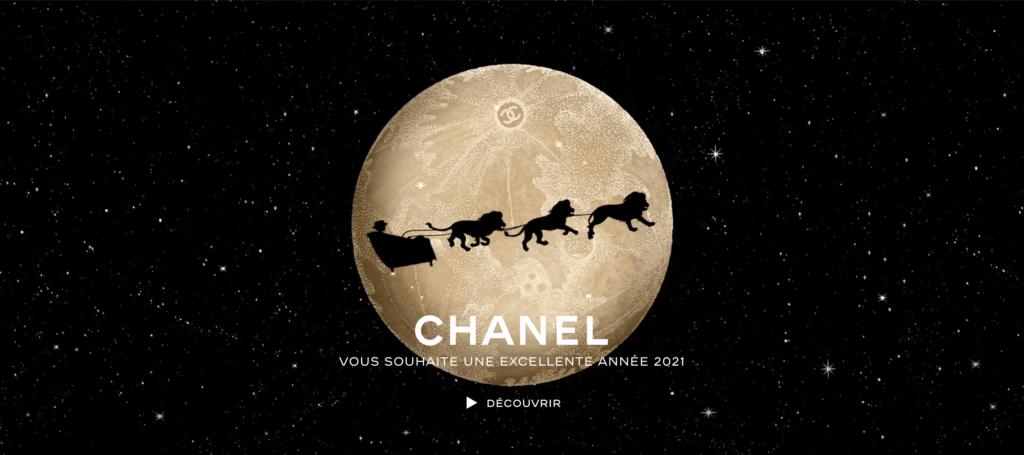 CHANEL Meilleurs voeux 2021 Esprit de Gabrielle espritdegabrielle.com