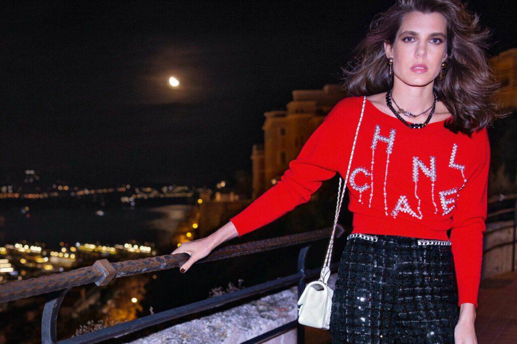Charlotte Casiraghi campagne CHANEL printemps-été 2021 Esprit de Gabrielle espritdegabrielle.com