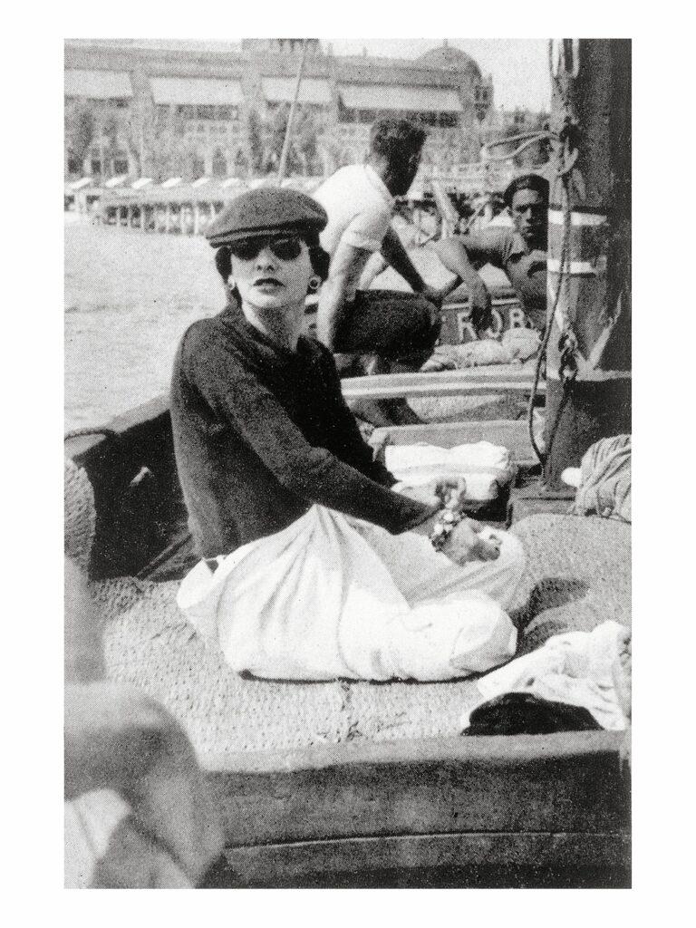 Gabrielle Chanel à Venise 1936 Esprit de Gabrielle espritdegabrielle.com