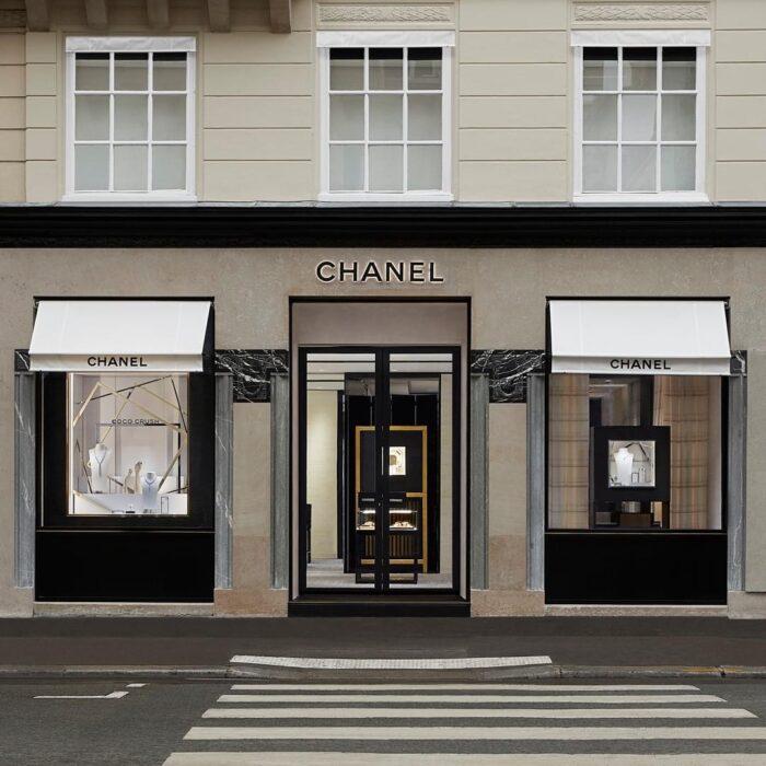 CHANEL Joaillerie boutique éphémère 15 rue de la Paix Esprit de Gabrielle espritdegabrielle.com