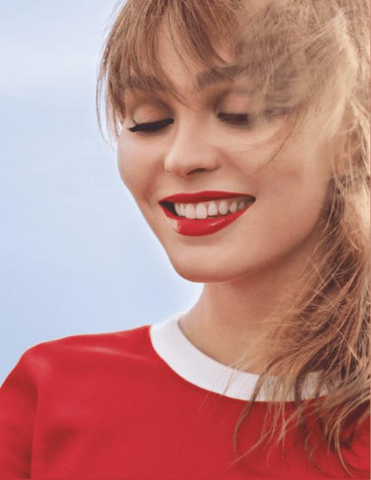 CHANEL ROUGE COCO BLOOM Lily-Rose Depp Esprit de Gabrielle espritdegabrielle.com