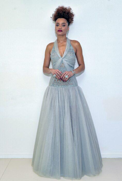 Golden Globe Awards 2021 Andra Day CHANEL Esprit de Gabrielle espritdegabrielle.com