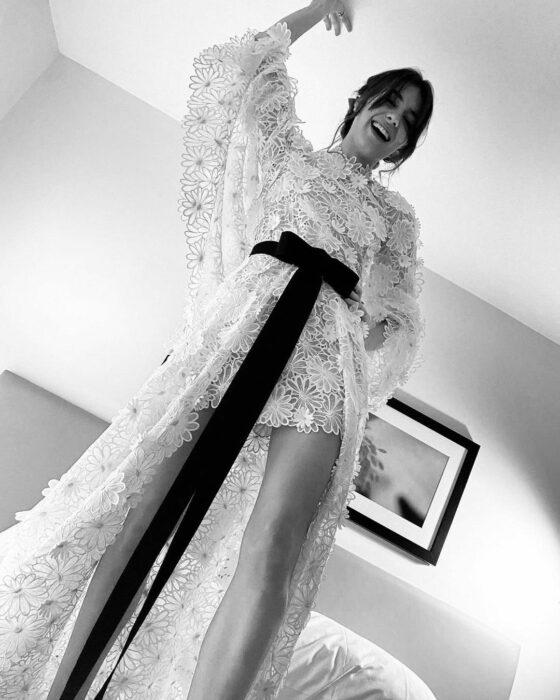 Golden Globe Awards 2021 Daisy Edgar Jones CHANEL Esprit de Gabrielle espritdegabrielle.com