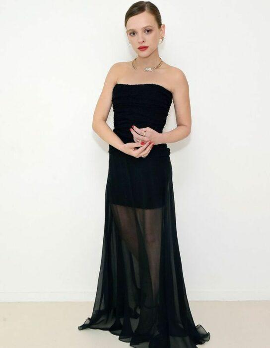 Golden Globe Awards 2021 Shira Haas CHANEL Esprit de Gabrielle espritdegabrielle.com