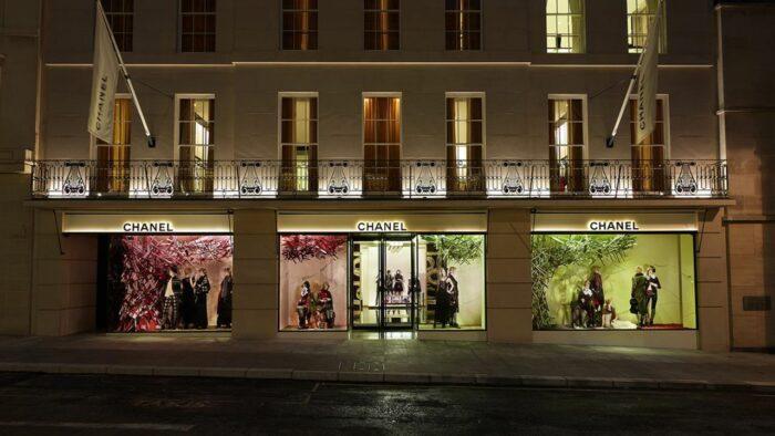 Boutique CHANEL London New Bond Street Esprit de Gabrielle espritdegabrielle.com